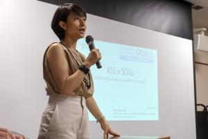 永井事務局長より、SDGsの説明
