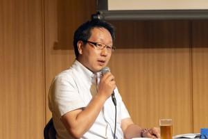 モデレーター・平本督太郎氏(金沢工業大学)