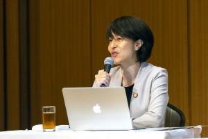 モデレーター ・永井三岐子(UNU-IAS OUIK)