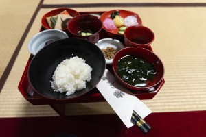 總持寺祖院の精進料理は参加者にも好評だった