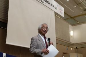 中村浩二氏(石川県立自然史資料館館長・OUIK客員教授)